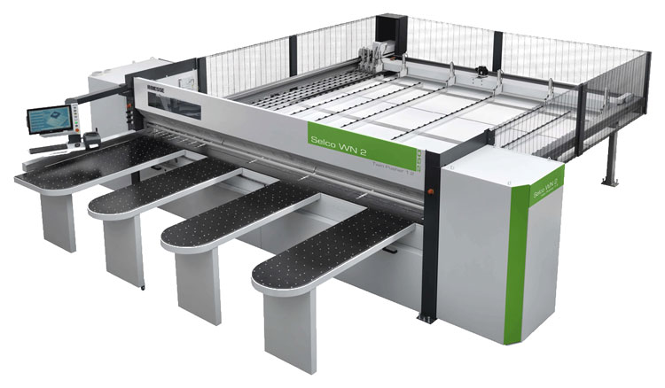 biesse selco saw integration with cutting optimisation software opticut