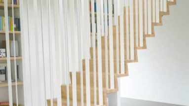 suspended stair design